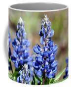 Blue Lupines Coffee Mug