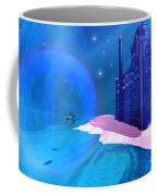 Blue Mansions Coffee Mug