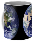 Blue Marble Composite Images Generated By Nasa Coffee Mug