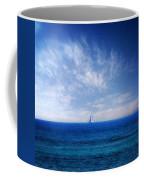 Blue Mediterranean Coffee Mug by Stelios Kleanthous