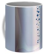 Blue Metar Background. Coffee Mug