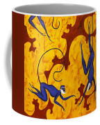 Blue Monkeys No. 45 Coffee Mug