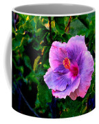 Blue Moon Hibiscus Coffee Mug