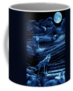 Blue Moon Wolf Pack Coffee Mug