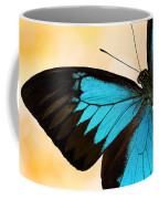 Blue Morpho Closeup Coffee Mug