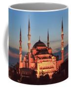 Blue Mosque At Dusk Coffee Mug
