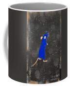 Blue Mouse Coffee Mug
