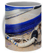 Blue Net Coffee Mug