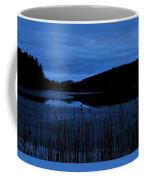 Blue Night Falling Coffee Mug