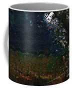 Blue Night In The Field Coffee Mug