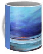 Blue Night Sail Coffee Mug by Toni Grote
