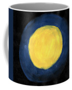 Blue Night Sun Coffee Mug