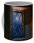 Blue Night Through Casement Coffee Mug