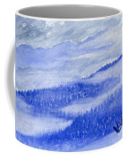 Blue Noon In Western Montana Coffee Mug