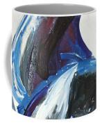 Blue Olympic Horse  Coffee Mug
