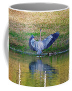 Blue On The Bank Coffee Mug
