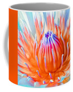 Blue Orange Lily Coffee Mug
