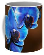 Blue Orchids Coffee Mug
