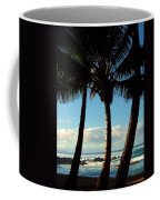 Blue Palms Coffee Mug by Karen Wiles