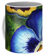 Blue Pansies  Coffee Mug