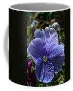 Blue Pansy Coffee Mug