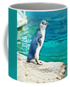 Blue Penguin Coffee Mug