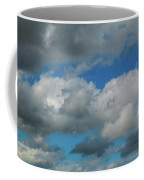 Blue Perfect Sky Sea Of Clouds From High Altitude Space Coffee Mug