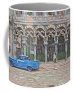 Blue Pickup In Cuba Coffee Mug