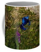 Blue Poison Arrow Frog Coffee Mug