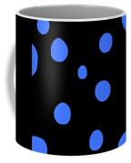 Blue Polka Dot Design Request Coffee Mug