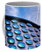 Blue Polka-dot Wave Coffee Mug