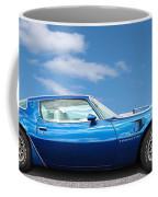 Blue Pontiac Trans Am 1978 Coffee Mug