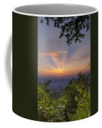 Blue Ridge Mountain Sunset Coffee Mug