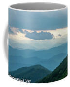 Blue Ridge Mountains View From Craggy Garden Coffee Mug