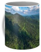 Blue Ridge Parkway At Balsam Gap Coffee Mug