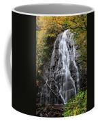 Blue Ridge Parkway Crabtree Falls In Autumn Coffee Mug