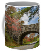 Blue Ridge Parkway Stone Arch Bridge Coffee Mug