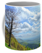 Blue Ridge Parkway Views - Rock Castle Gorge Coffee Mug by Kerri Farley