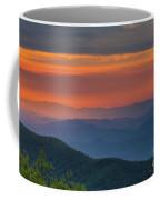 Blue Ridge Sunrise At Wintergreen I Coffee Mug