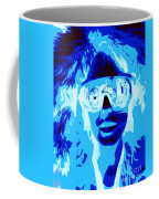 Blue Skier Bob Coffee Mug