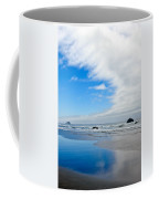 Blue Sky Beaches Coffee Mug