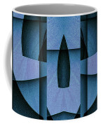 Blue Skull Coffee Mug