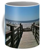 Blue Sky And Beautiful Beach Coffee Mug