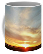 Blue Sky And Sunrise Coffee Mug