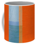 Blue Sky Around The Corner Coffee Mug