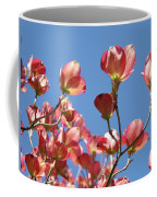 Blue Sky Art Prints Pink Dogwood Flowers 16 Dogwood Tree Art Prints Baslee Troutman Coffee Mug