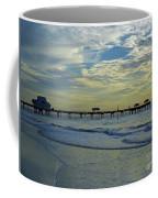 Blue Sky Clearwater Pier 60 Coffee Mug