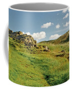 Blue Sky Of Holyrood Walk. Coffee Mug