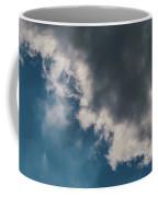 Blue Sky Solar Eclipse Coffee Mug