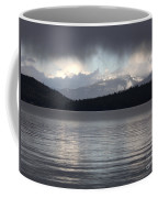 Blue Sky Through Dark Clouds Coffee Mug
